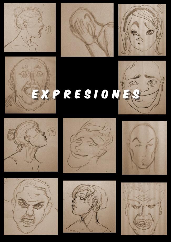 Expresiones de Comic en Academia C10
