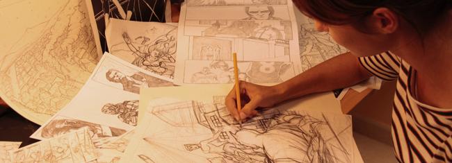 Cristina Coronas-Comic-Dibujante-DC Comics-Academia C10-5