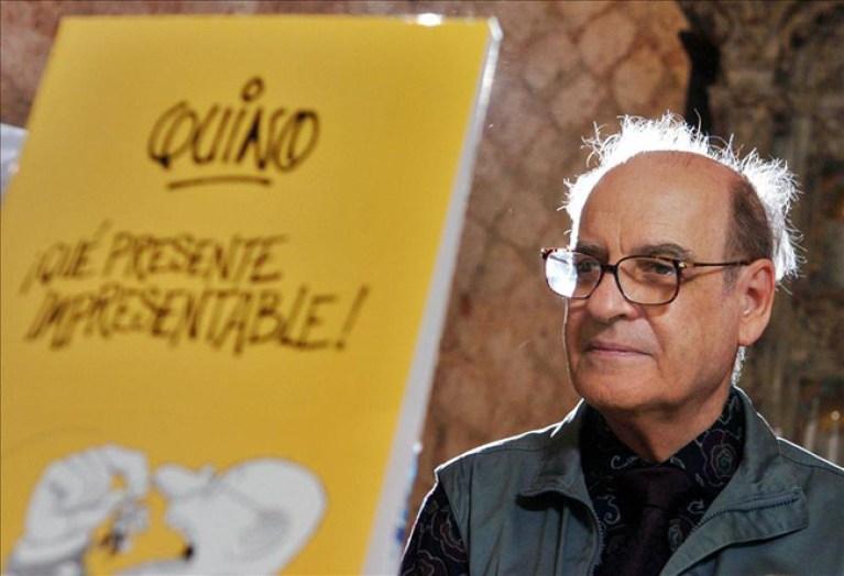 """El Festival del Cómic de Roma premia al humorista gráfico argentino """"Quino"""""""