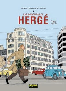Hergé se convierte en cómic.