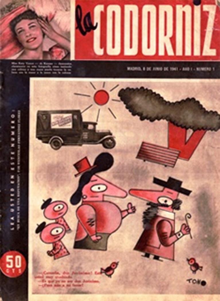 Exposición en el Museo de la Ciudad: La Codorniz.