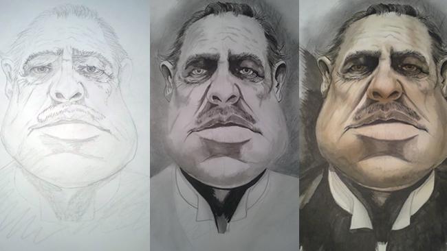 Marlon Brando_Ilustracion_aerografia_cursos_carlos diez_academia c10_trabajo de alumno_11 copia