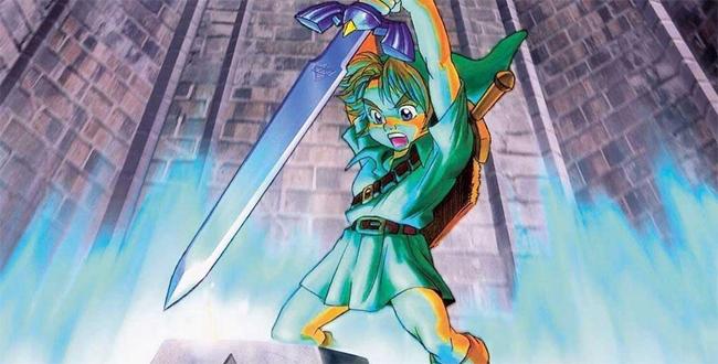 """Cómic de """"The legend of Zelda""""."""