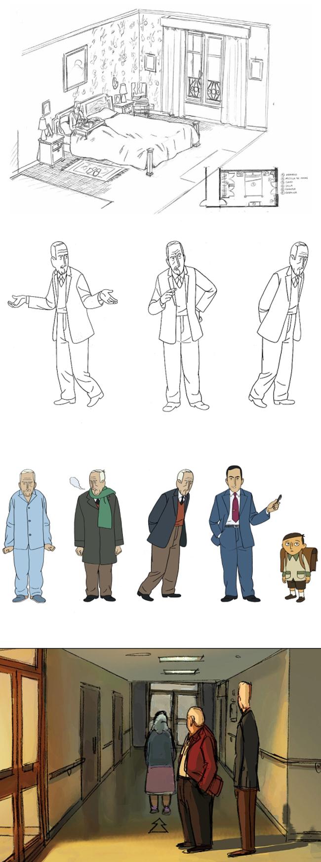 """Academia C10 con el cómic español: """"Arrugas"""""""