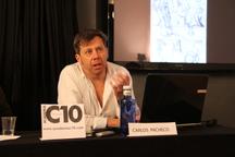 El dibujante Carlos Pacheco (Marvel comics) da una charla en los cursos de cómic de Academia c10