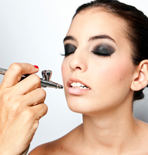 maquillaje en aerografo