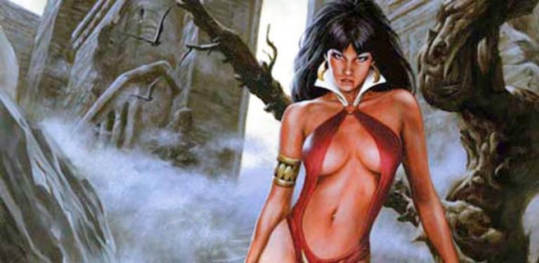 Vampirella-Comic-Madrid-Cursos-AcademiaC10-Aprenderdibujo