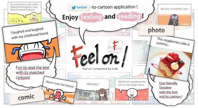 Twitter se convierte en cómic manga con una aplicación