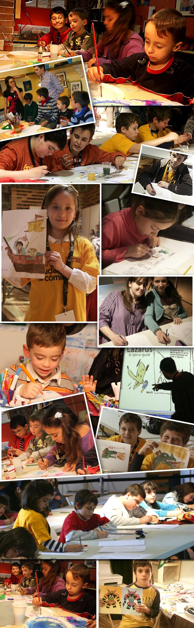 Cursos dibujo ninos pintura creatividad infantil copia