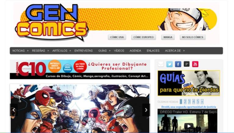 Logotipos Academia C10 Gen Comics Accion Superheroes Onomatopeya