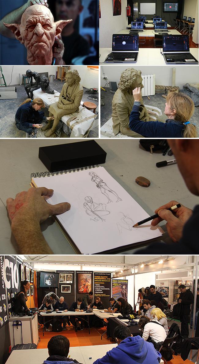 talleres-navidad-dibujo-photoshop-escultura-madrid-academiac10