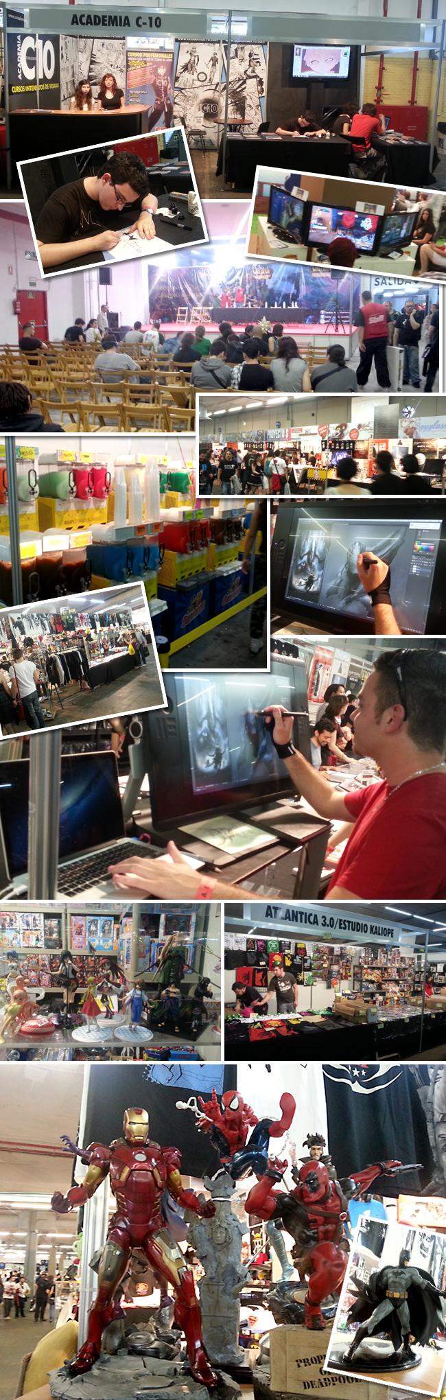 expomanga 2013 articulos de super heroes manga comic madrid