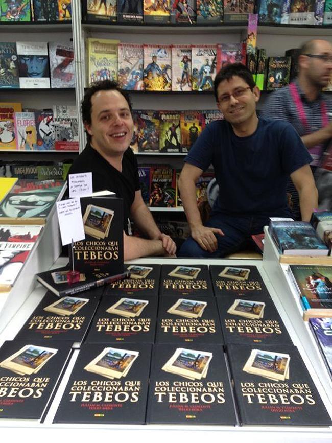 Forges-Alfonso-Azpiri-firmas-feria-libro-madrid-helio-mira-julian-clemente
