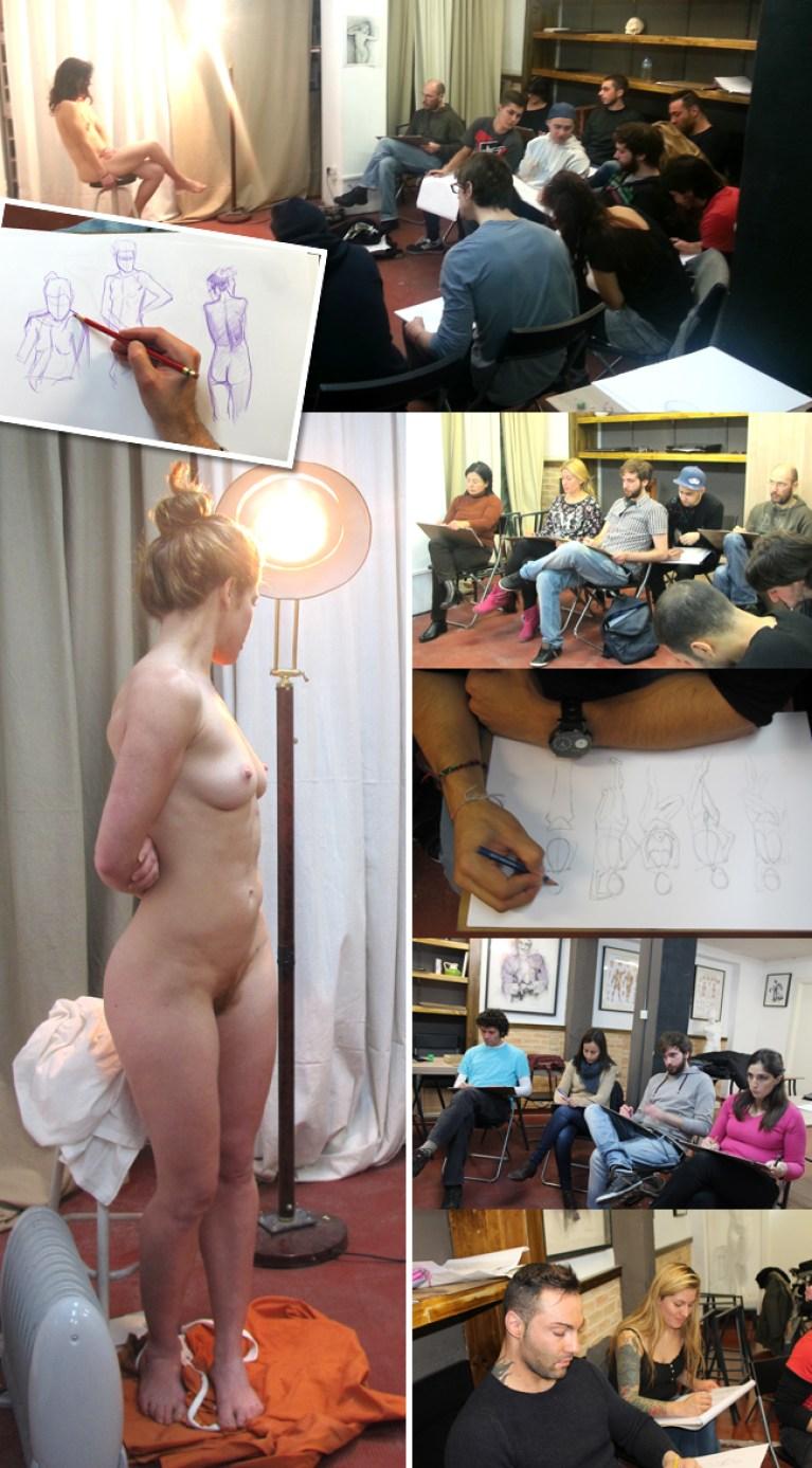 ibujo-del-natural-comic-ilustracion-modelo-bellas-artes-alumnos-cursos-aerografia-ilustracion-comic-academia-c10-madrid