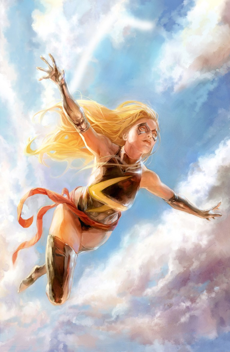 Miss Marvel-dibujo-comic-xermanico-dc-profesor-dibujo-ilustracion-digital-academia c10-c10-carlos diez-madrid