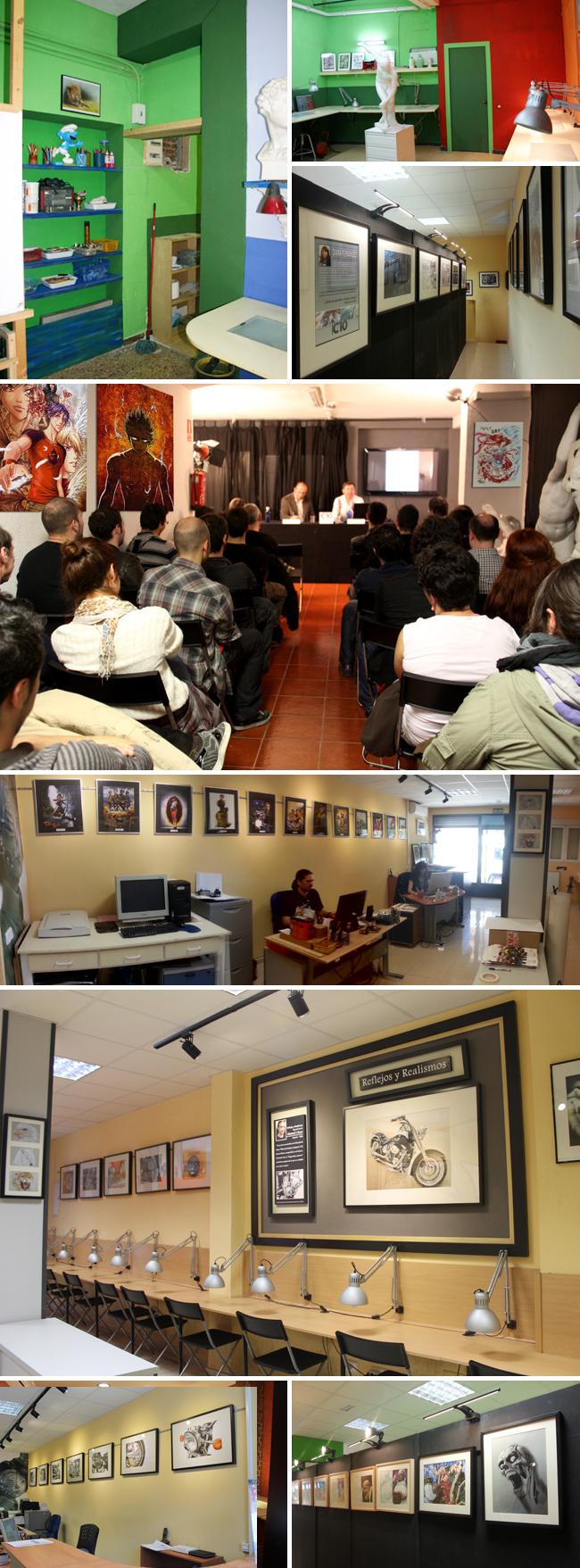 Academia C10-aulas de dibujo-comic-ilustracion-aerografia-dibujo digital-manga-fx maquillaje-3