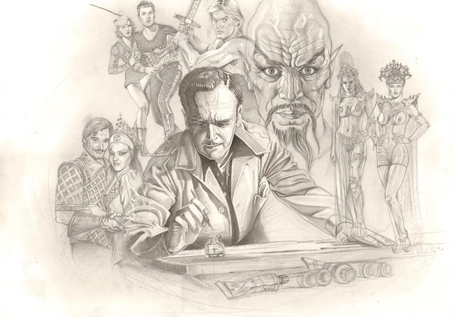 Alex-raymond-Flash-Gordon-Ming-el-Cruel-dibujo-ilustracion-comic-autor-carlos-diez-academia-c10