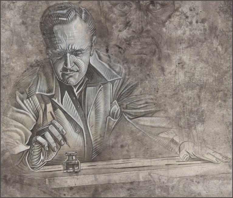 Ilutracion de flash gordon para el concurso de dibujo, comic e ilustracion de academia 10 y expocomic. Aerografia de Carlos Diez.