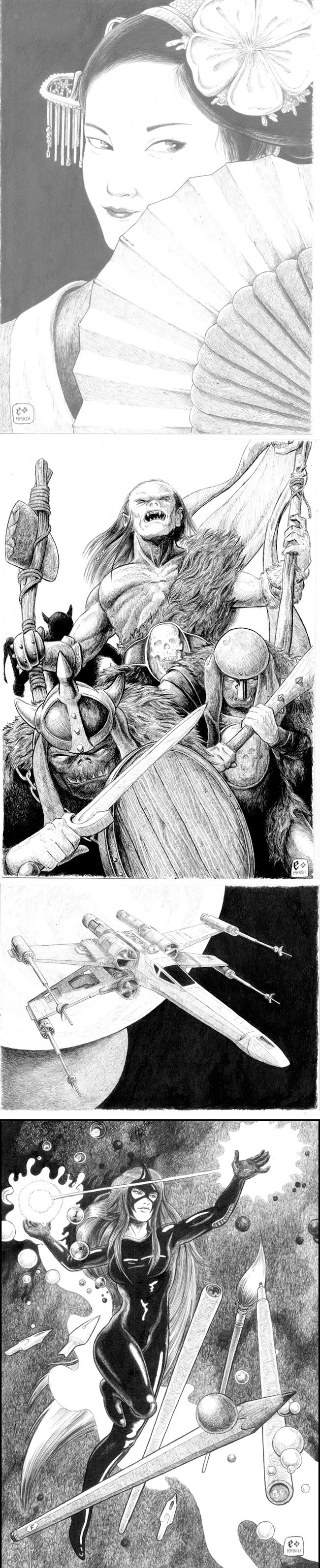 nuevos-trabajos-juan-espadas-madrid-comic-dibujo-ilustracion-carboncillo-aguada-acuarela