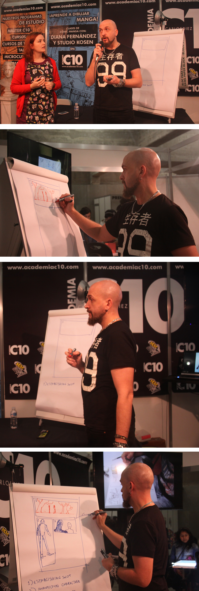 clase-magistral-david-messina-expocomic-madrid-masterclass