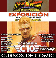 xermanico_expo_flash gordon_exposicion_academiaC10_arte_artista_obra_madrid