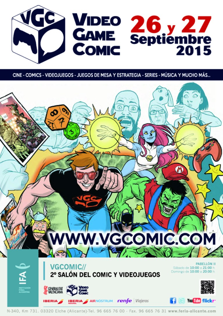 DOSSIER COMERCIAL - VGCOMIC 2015