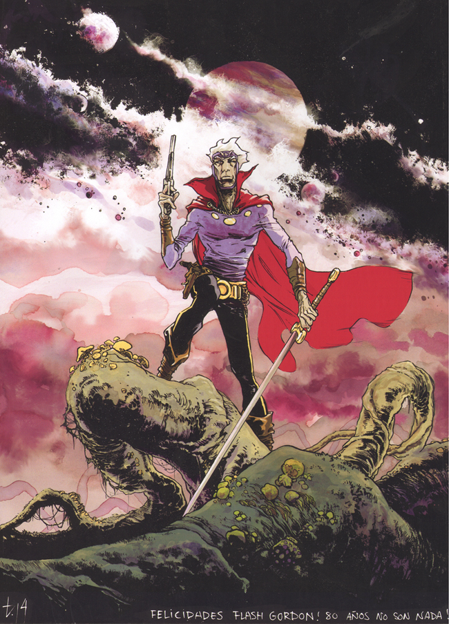 flash gordon_tirso cons_ilustracion_comic_exposicion_academia c10