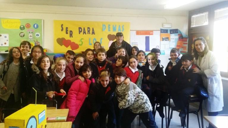 Clase de niños en el Colegio Virgen Milagrosa de Madrid-3