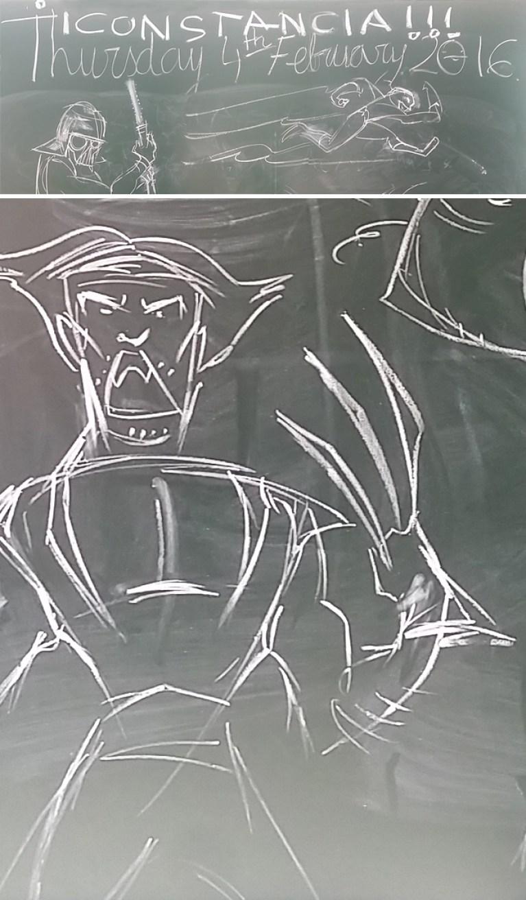 Cursos-Dibujo-Niños-Pizarra-Academia C10