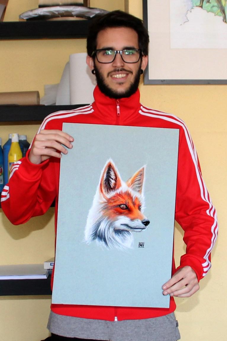 curso-ilustracion-tradicional-masterc10-lapices-colores-retratos-animales-2