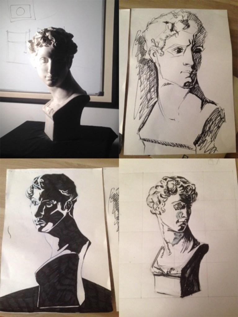 curso-dibujo-profesional-luces-sombras-bodegones-bustos-verano-aprender