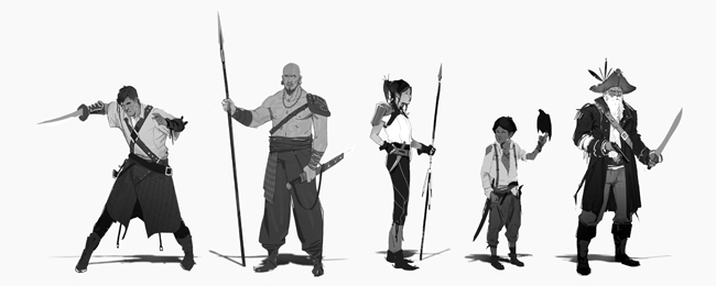 curso-arte-digital-disenos-personajes-photoshop-siluetas-piratas-rodrigo-aguirre-academiac10-madrid1