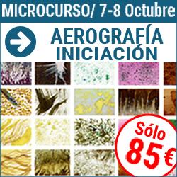 Microcurso de Aerografía 1: Iniciación a la aerografía