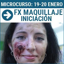 Microcurso taller de efectos especiales de maquillaje y fx