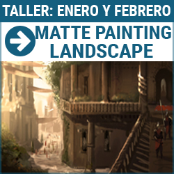 Taller digital: Matte painting. Landscape