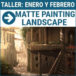 Taller digital: Matte painting. Landscape