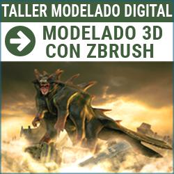 Taller digital: Modelado 3D con Zbrush