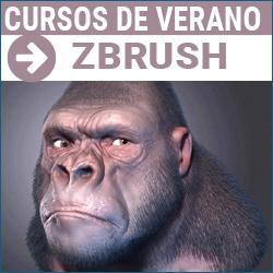 Curso de verano de modelado 3D con Zbrush