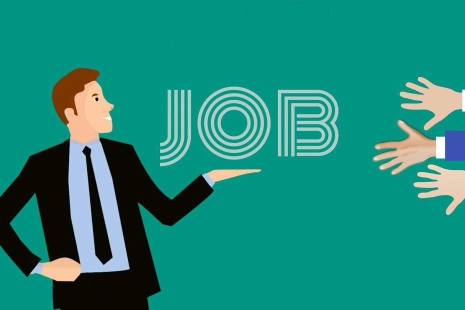 Elección de personas buscando empleo