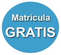 MATRICULA GRATIS AZUL