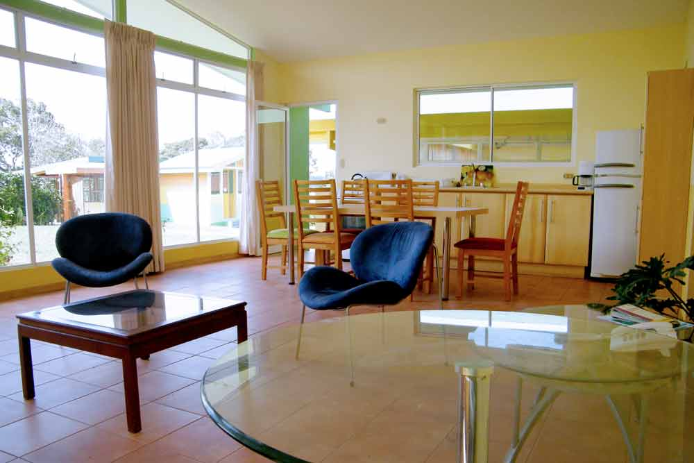 Accommodation: Student Residence Coronado living room