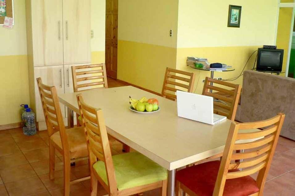 Accommodation: Student Residence Coronado main living space