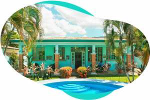 School campus in Jacó Beach