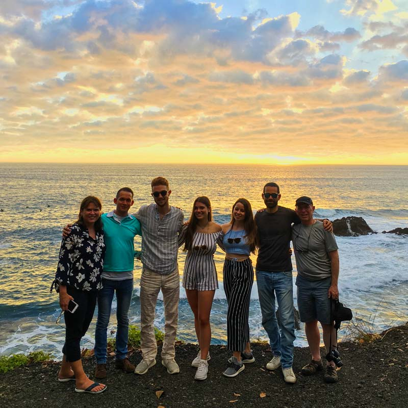 Spanish Students in Traveling Classroom in Costa Rica