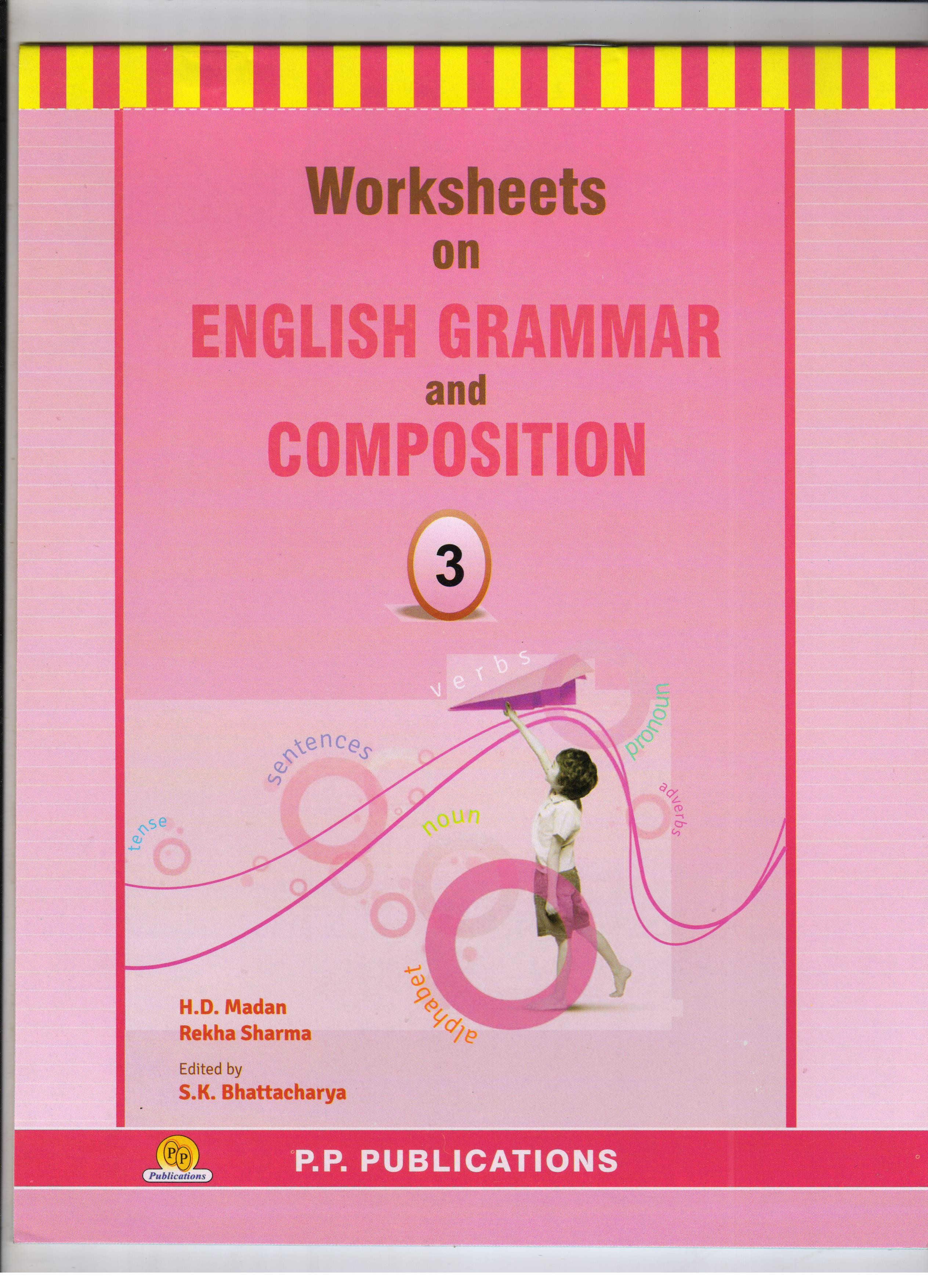 Buy Pp Worksheets On English Grammar For Class Iii Mrp