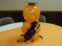 Balon untuk ucapan wisuda