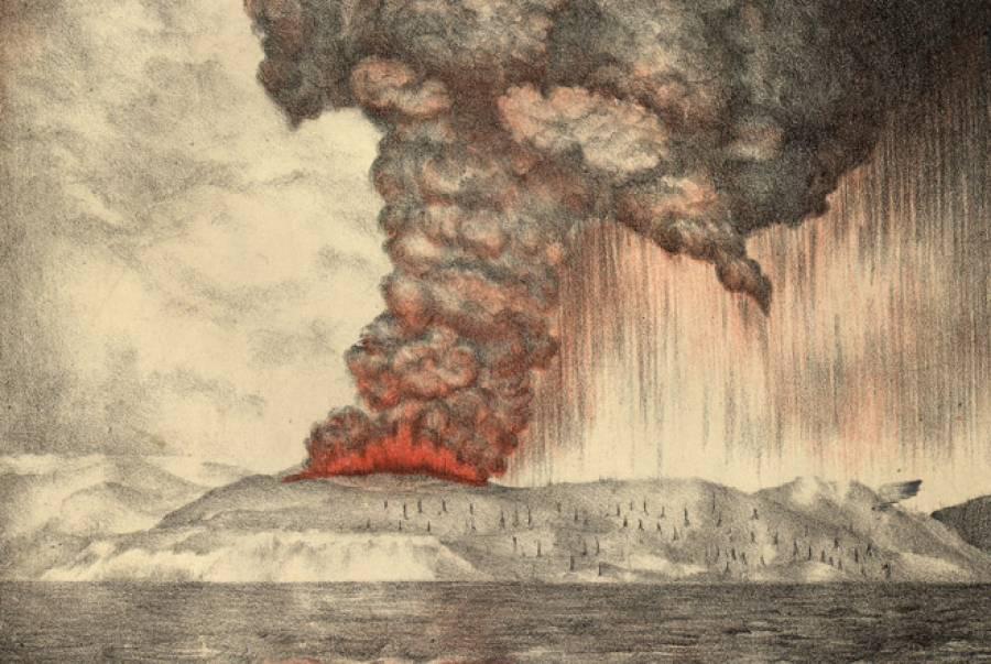 kliping bencana alam 131Tahun Letusan Krakatau