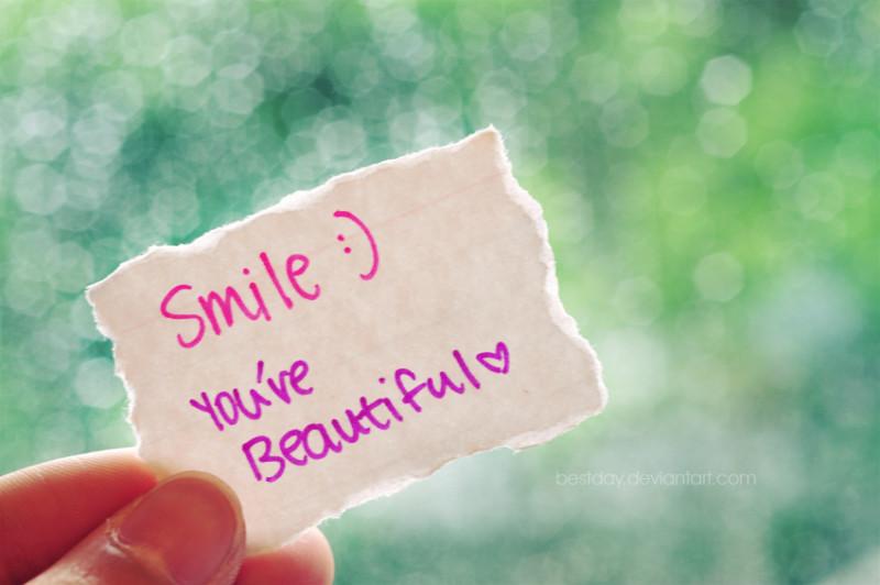 kata-kata mutiara tersenyum