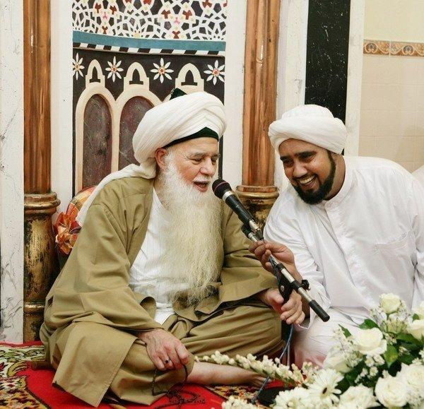 foto Habib Syech bersama Shaykh Hisham Kabbani