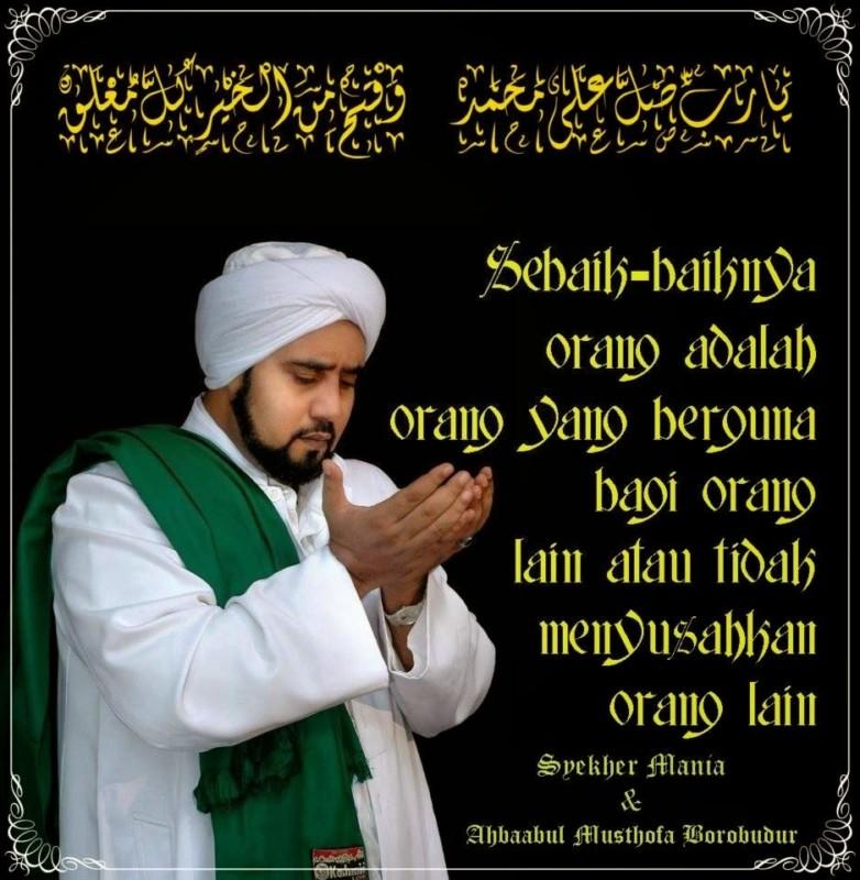 kata-kata Habib Syech abdul